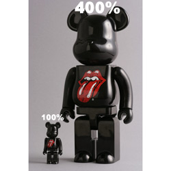 BE@RBRICK/100%/400% The Rolling Stones
